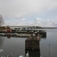 近江大橋と琵琶湖東岸