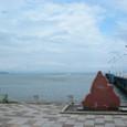 今津港の石碑