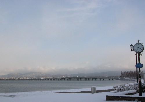 近江大橋くっきり