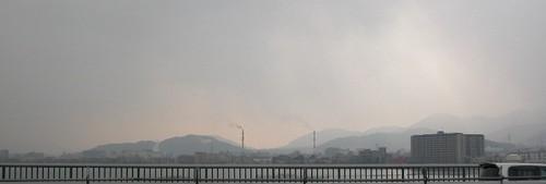 近江大橋からの眺め