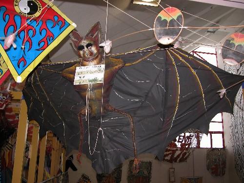 コウモリ凧