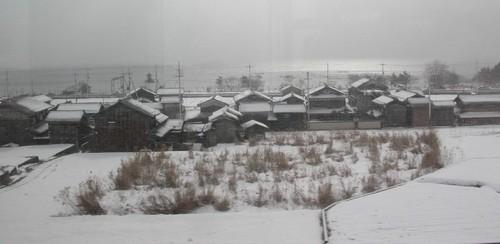 光る琵琶湖