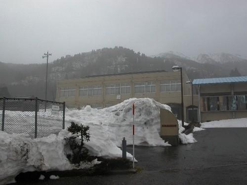 マキノ北小学校の分校跡
