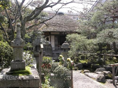 見事な日本庭園