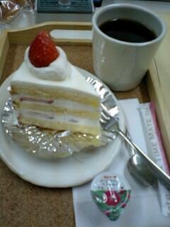 Be-cafeでケーキセット