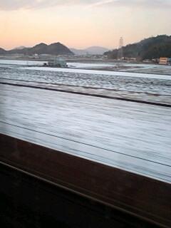 雪景色の滋賀