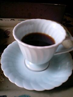 仕込み水でコーヒー