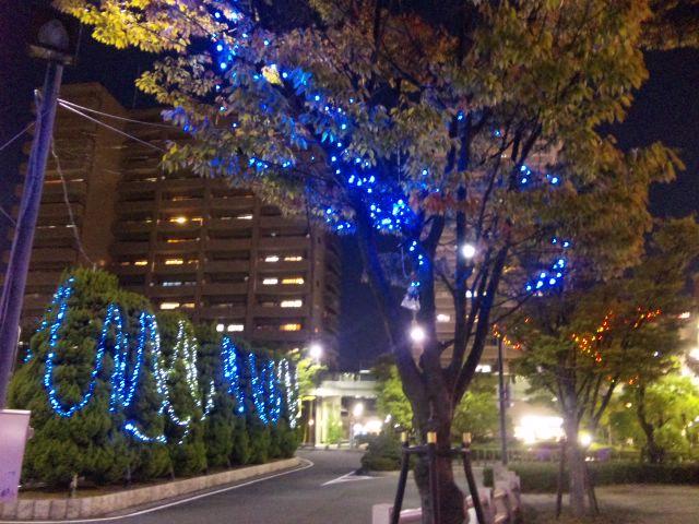 栗東駅前イルミネーション