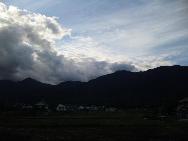 平良の山、琵琶の湖