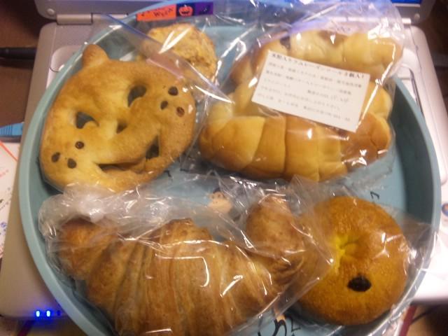 ハロウィンのパン