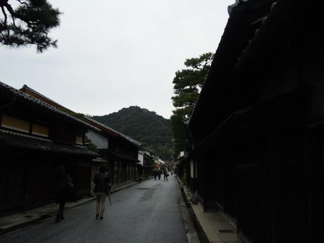 近江八幡の町