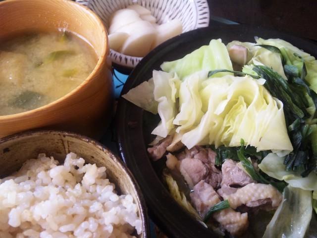 タジン鍋定食