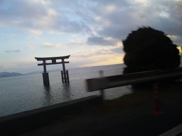 高島の鳥居
