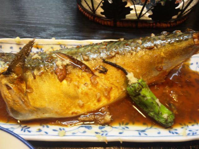 鯖の味噌煮定食