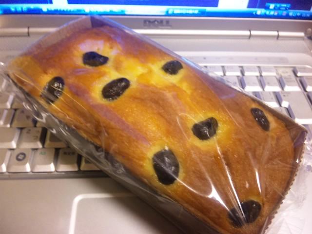 和ケーキ 丹波の黒豆