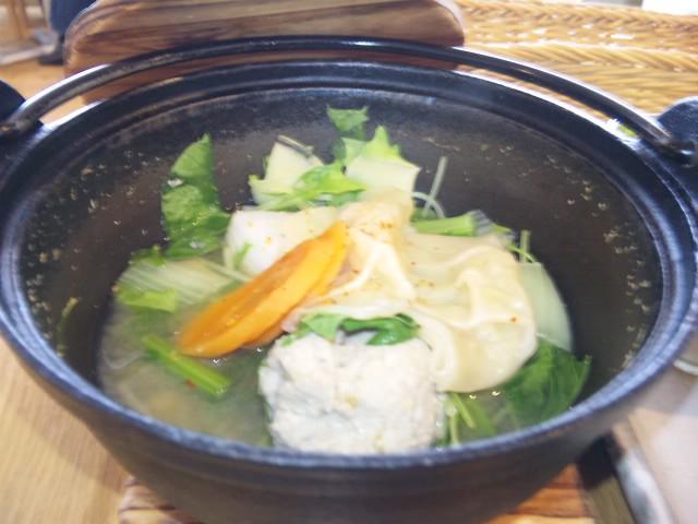 鰯のツミレ鍋ランチ
