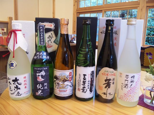 阿波と近江の酒と肴