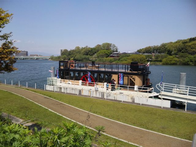瀬田川外輪船一番丸