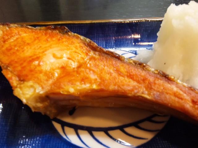 焼き鮭定食