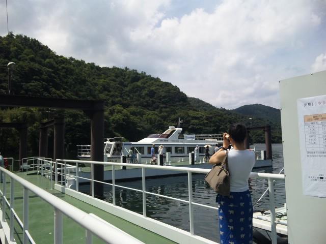 沖島うなぎ祭です