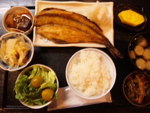 焼きホッケ定食