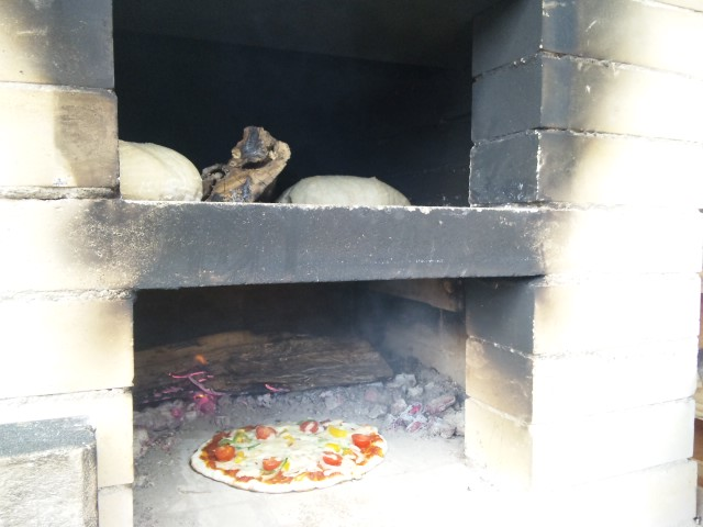石窯ピザ試食会
