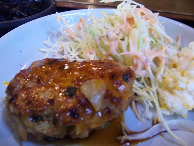 鶏つくね定食