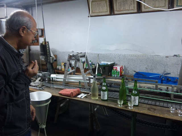 矢尾酒蔵訪問