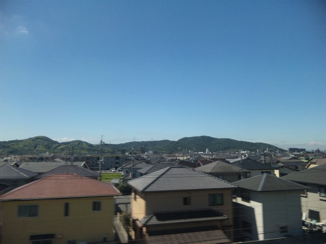 雲が近い日