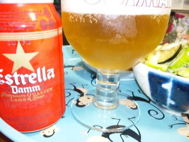 スペイン土産のビール