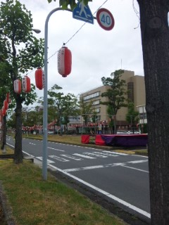 近江八幡てんびん祭り前