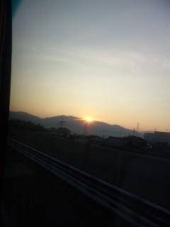 大津に帰りました