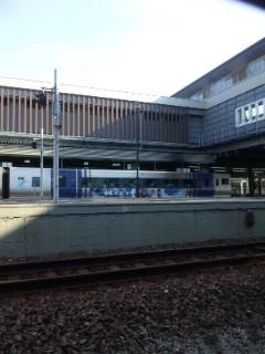 岡山駅から新幹線