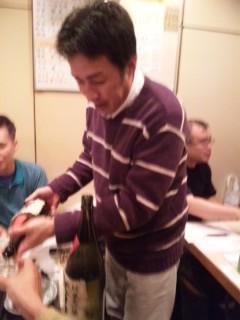 大治郎さんと「大治郎」を飲む会