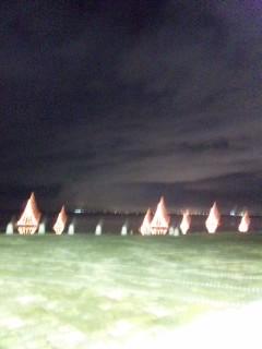 浜大津の明かり