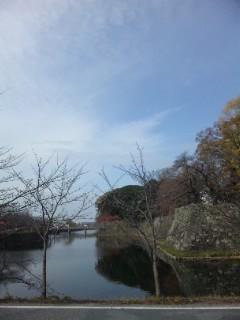 彦根城お堀