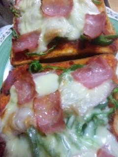 ピザトースト再び