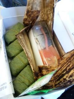 モーニング柿の葉寿司
