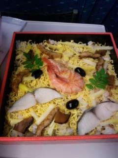 黄ニラ バラ寿司
