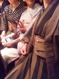 着物と江戸魔女パンチ