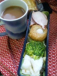 練り物と鶏ハム弁当
