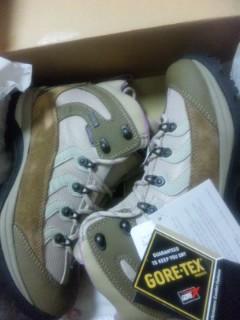 ニュー登山靴