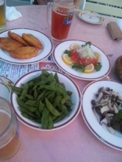 ロシア料理キエフのビアガーデン