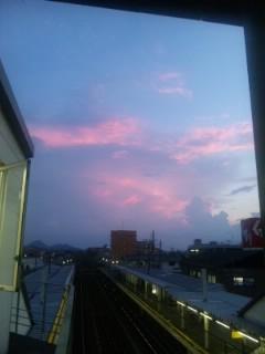 夕空 印象派