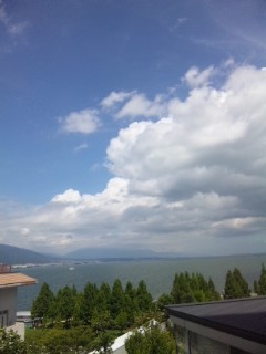 本日の琵琶湖