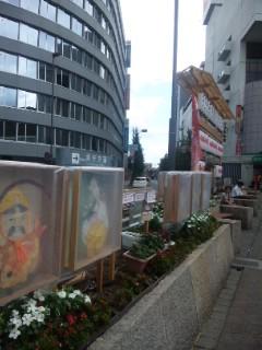 大津 食と明かりの祭の明かり