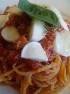 モッツァレラトマトパスタランチ