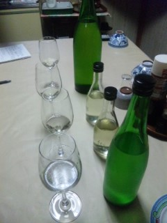 吉田酒造でお酒選び
