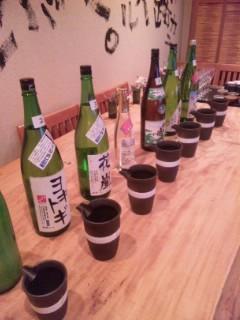倖屋 滋賀の地酒を楽しむ会 「竹生嶋」でした