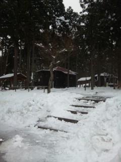 余呉雪景色